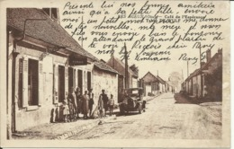 * LES AGEUX ( Oise ) , Café De L' Espérance , Tabac DE WULF , CPA ANIMEE - France