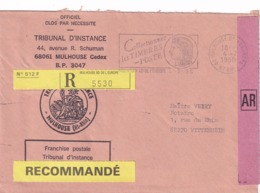 Mulhouse - 1988 - Postmark Collection (Covers)