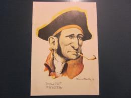 Carte Postale Les Corsaires Etienne Blandin Thomas Le Gueult Dit Mords'y L'oeil - Andere Zeichner