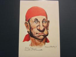 Carte Postale Les Corsaires Etienne Blandin Robert Morin Dit La Chique - Andere Zeichner