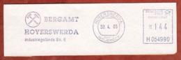Ausschnitt, Neopost H054990, Bergamt Hoyerswerda, 144 C, Wojerecy 2003 (82030) - Machine Stamps (ATM)