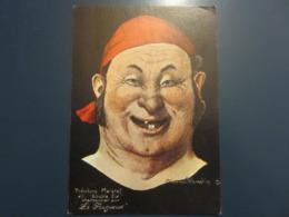 Carte Postale Les Corsaires Etienne Blandin Théophane Maigrel Dit Double Six - Andere Zeichner