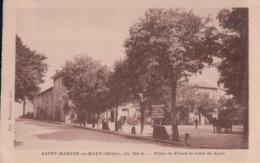SAINT-MARTIN En HAUT Place Du Plomb Et Route De Lyon - France