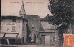 CHASSELAY La Vieille Porte Et Le Clocher (1922, RESTAURANT LASSAUSAIE) - France