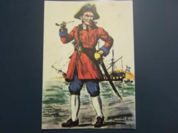 Carte Postale Les Corsaires Etienne Blandin Eustache Faguet Dit Turlute - Andere Zeichner
