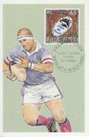 Carte  Maximum   1er  Jour   WALLIS  ET  FUTUNA     COUPE  DU  MONDE  DE  RUGBY      2007 - Rugby