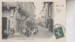 PORT  SAINTE MARIE   GRANDE RUE - Francia