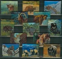 Bhutan MNH 3D Set - Briefmarken