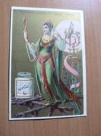 Chromo Liebig. Femme Devant Son Miroir - Liebig