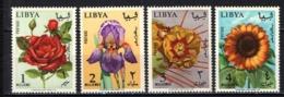 LIBIA - 1965 - Flowers - MNH - Libia
