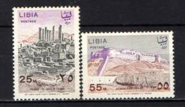 LIBIA - 1966 - Ruins - MNH - Libia