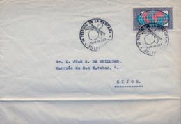 1963 . ASTURIAS , VILLAVICIOSA , FESTIVAL DE LA MANZANA , COMISIÓN ORGANIZADORA , SIDRA , CIDER , CIDRE - 1931-Hoy: 2ª República - ... Juan Carlos I