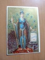 Chromo Liebig. Femme Paon Faisant La Roue - Liebig