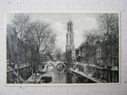 Netherlands / Utrecht - Oude Gracht Met Dom, 1932. - Utrecht