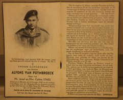 Melsele, Alfons Van Puymbroeck, Gesneuveld In Korea (1951). Beveren. Belgisch Korea Legioen - Religione & Esoterismo