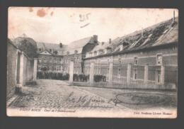 Ferrières - Saint-Roch - Cour De L'Etablissement - Dos Simple - 1904 - éd. Brisbois-Lhoest, Hamoir - Ferrieres