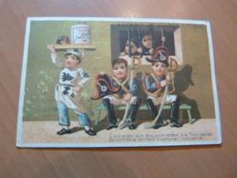 Chromo Liebig. Enfants En Uniformes De Gendarmes - Liebig