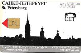 @+ TC De Russie - St-Petersburg 50U - Ref : RU-SP-Y-0006 (50 000ex) - Russland
