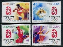 Cuba 2008 / Olympic Games Beijing MNH Juegos Olímpicos Pekin Olympische Spiele / Cu5825  31-46 - Verano 2008: Pékin