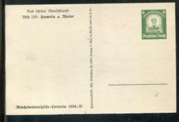 """Deutsches Reich / 1934 / Sonderpostkarte Mi. P 254 Bild 159 """"HAMELN A. WESER"""" ** (1533) - Germany"""