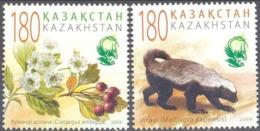 Kazajstan 565/566 ** MNH. 2009 - Kazajstán