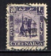 CIRENAICA - 1950 - CAVALIERE SENUSSITA - USATO - Cirenaica
