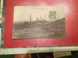 ESCH SUR ALZETTE  L' USINE DE METZ   1919 - Esch-sur-Alzette