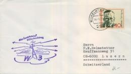 ALEMANIA , CORREO MARÍTIMO , SEA MAIL , SCHIFF POST , 1972 , MARINE ARSENAL WILHELMSHAVEN - Barcos