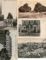 Lot De 20 CPA - CHER (18) - CHATEAUNEUF -OIZON - SANCOINS -AUBIGNY-sur-NERE- PLAIMPIED- AVORD- BOURGES-CULAN ... - France
