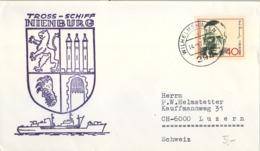 ALEMANIA , CORREO MARÍTIMO , SEA MAIL , SCHIFF POST , 1972 , TROSS - SCHIFF , NIENBURG - Barcos