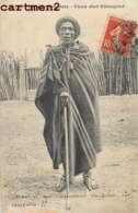 VIEUX CHEF KIKOUYOUF TYPE ETHNIE ETHNOLOGIE AFRIQUE ORIENTALE - Cartes Postales