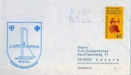 1972 , ALEMANIA , CORREO MARÍTIMO , SEA MAIL , SCHIFF POST , 1972 , KIEL , SCHNELLBOOT WIESEL - Barcos