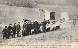 Thème : Aviation . Louis Blériot. Traversée De La Manche Arrivée A Douvres   (Voir Scan) - Aviatori