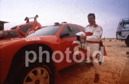 1994 PIERRE LARTIGUE CITROEN ZX PROTOTYPE RALLYE CAR VOITURE FRANCE 35mm PRESS DIAPOSITIVE SLIDE Not PHOTO No FOTO B4916 - Dias
