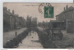 FLOING-Rue Du Ruisseau, Vers Le Moulin - France