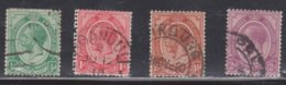 SOUTH AFRICA Scott # 2-5 Used - KGV - South Africa (...-1961)