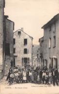 CPA 20 ( 2B ) Corse - CORTE, Rue Sainte Croix - Bastia