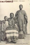 FILLES OUOLOFS SCENE TYPE ETHNIE ETHNOLOGIE AFRIQUE OCCIDENTALE - Cartes Postales