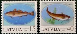 Letonia 544/545 ** MNH. 2002 - Letonia