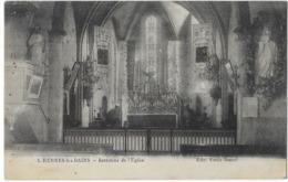 Rennes Les Bains Intérieur De L' Eglise Edit. Emile Saurel - France