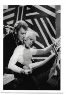 Carte Postale  SYLVIE VARTAN Et JOHNNY HALLYDAY - Chanteurs & Musiciens