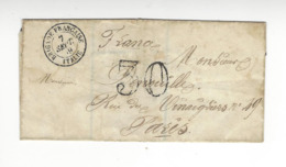 ENVELOPPE BRIGADE FRANCAISE ITALIE 1859 /FREE SHIPPING R - Marcophilie (Lettres)