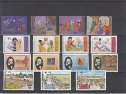 Zambia / Different Themes - Timbres