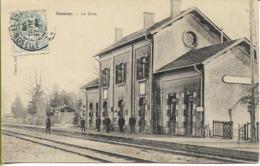 NOMENY  La Gare - Nomeny