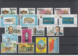 Belize / Different Themes - Timbres