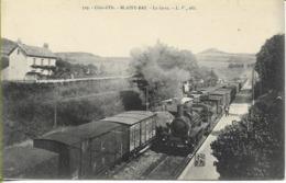 BLAISY-BAS La Gare (locomotive PLM 040 N° 3224 En Tête D'un Train De Marchandises) - Other Municipalities