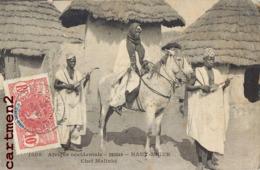 CHEF MALINKE TYPE HAUT-NIGER ETHNIE ETHNOLOGIE AFRIQUE OCCIDENTALE - Soudan