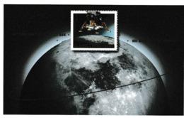 E 107) Deutschland 2019 Mi 3479 Bl. 84 **: 50 Jahre Mondlandung, Raumfahrt - Europa