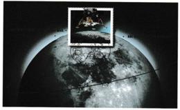 E 108) Deutschland 2019 Mi 3479 Bl. 84 Ersttag-Sonderstempel: 50 Jahre Mondlandung, Raumfahrt - Raumfahrt