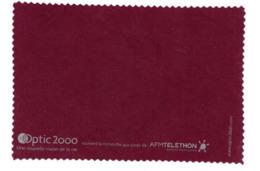 Chiffon à Lunettes Essuie Lunettes Optic 2000 - Publicité